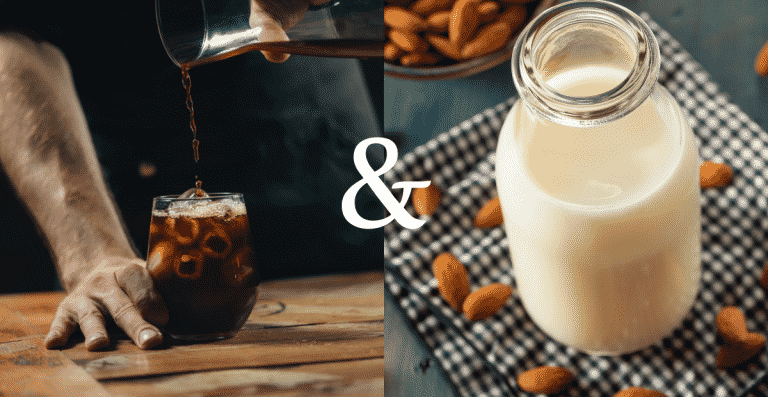 Cold Brew & Almond Milk: Friends Or Foes?